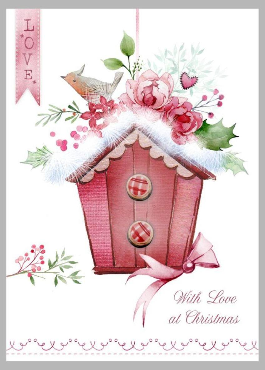 Christmas Birdhouse Copy