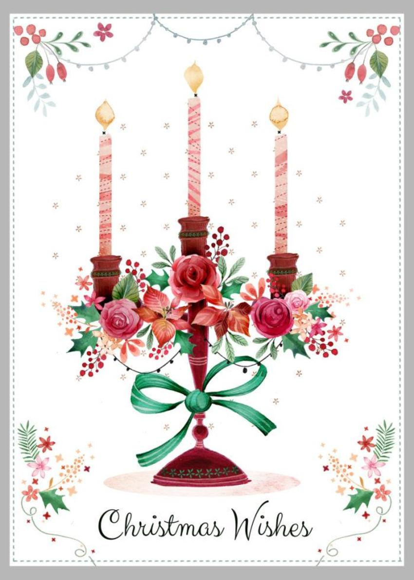 Christmas Candlestick Copy