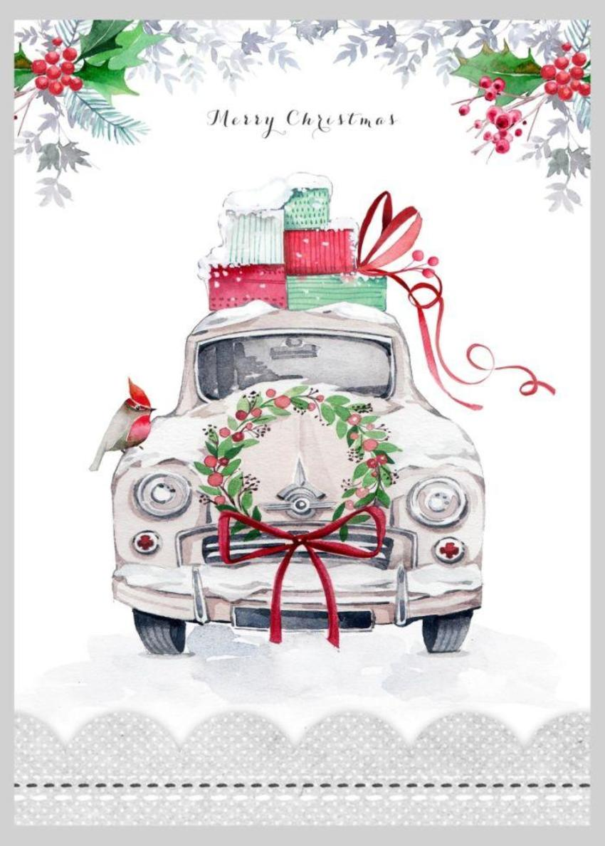 Christmas Car Copy
