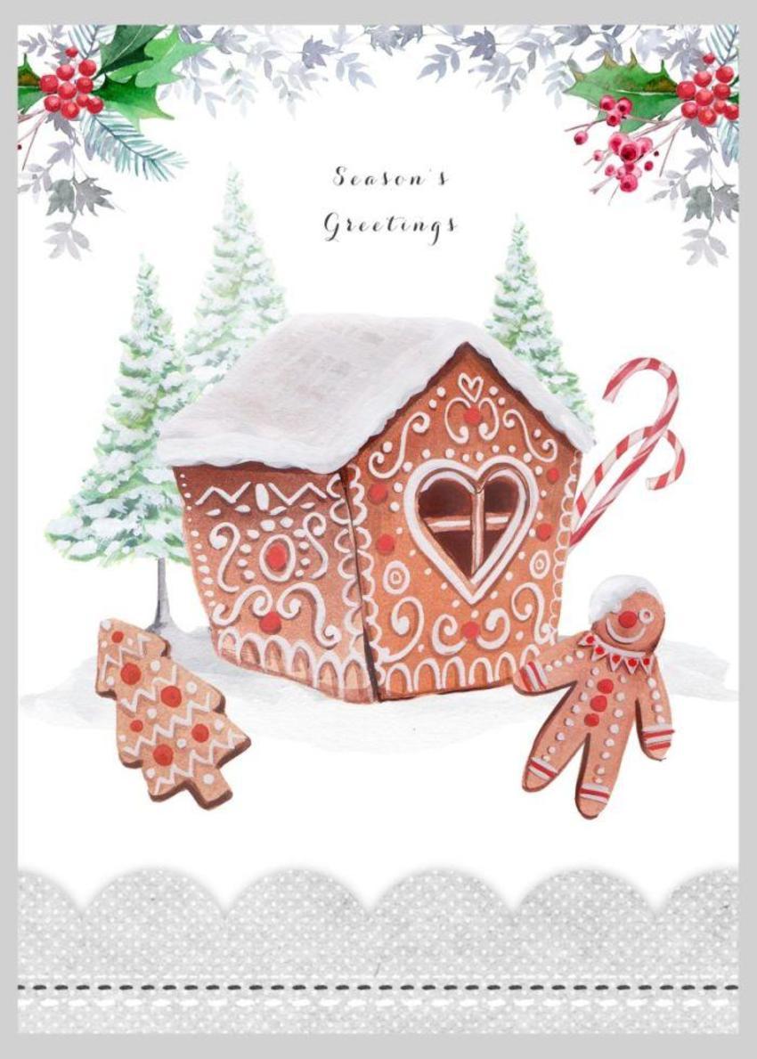 Christmas Gingerbread House Copy