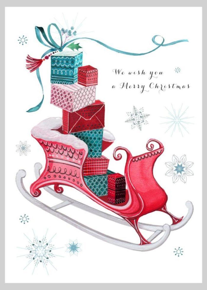Christmas Sleigh Presents