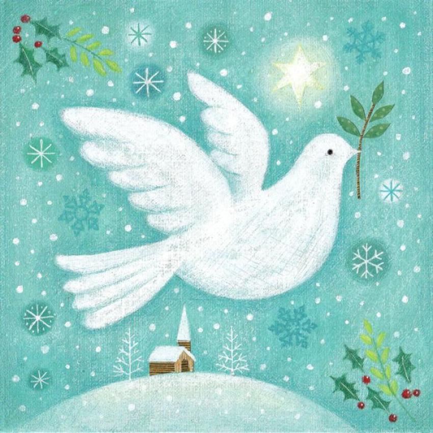 Christmas Peace Dove