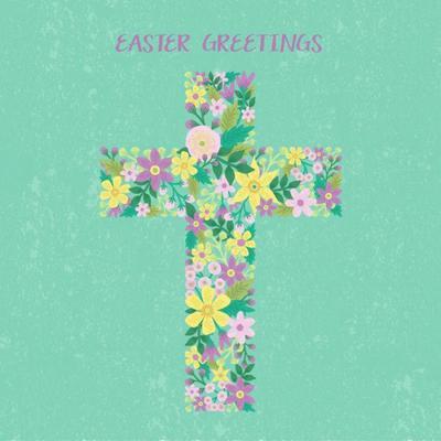easter-floral-cross