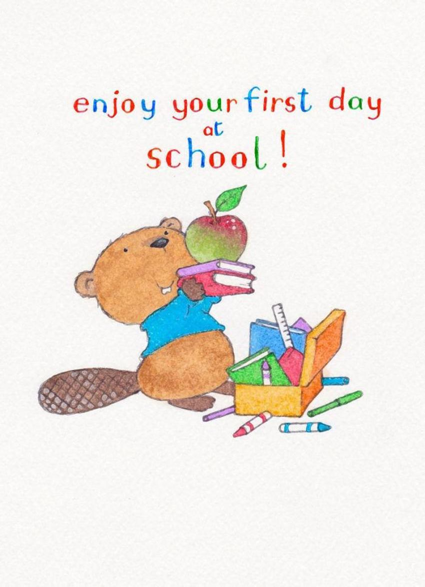 Beavers First Day