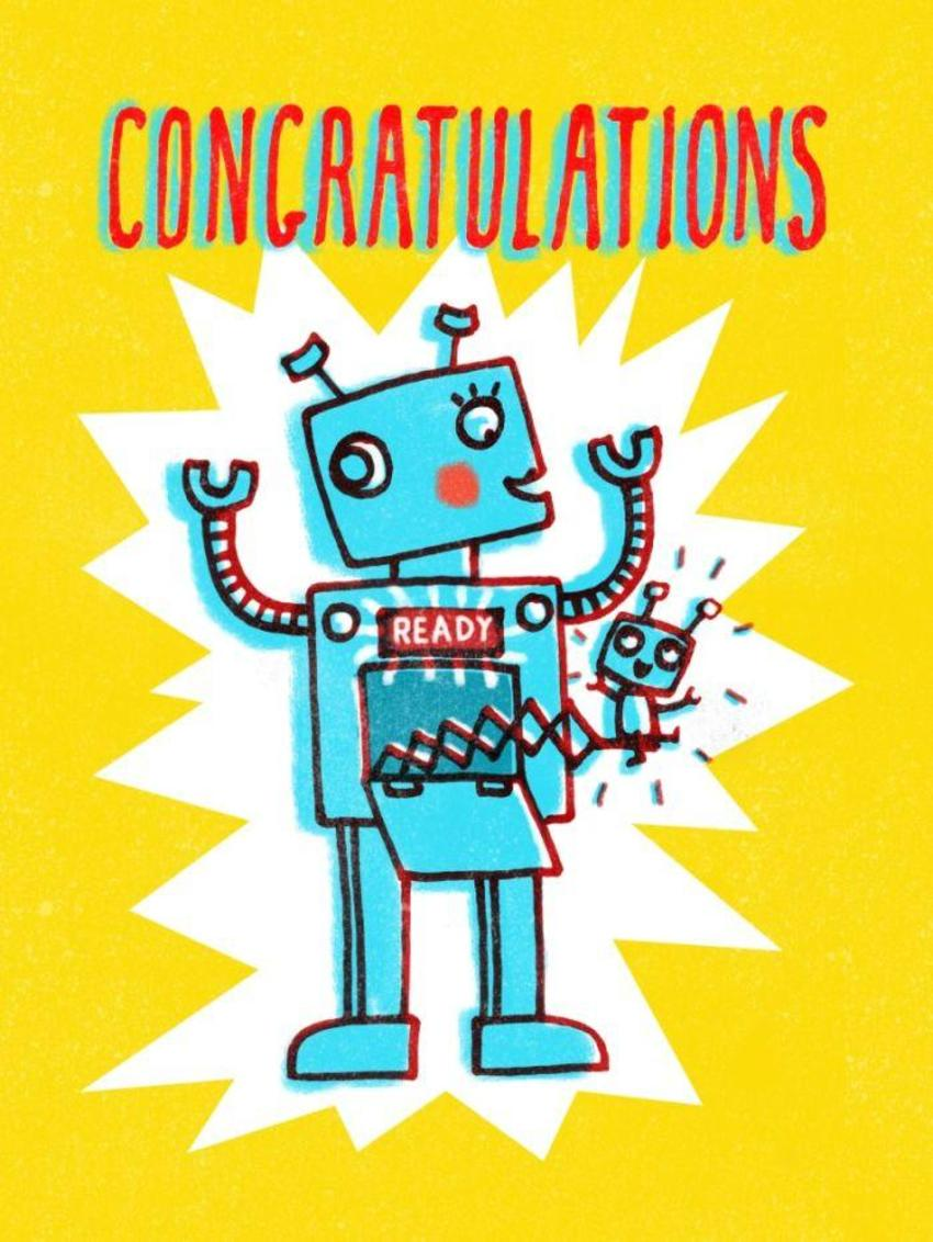Robot-new_baby_humour_card Copy