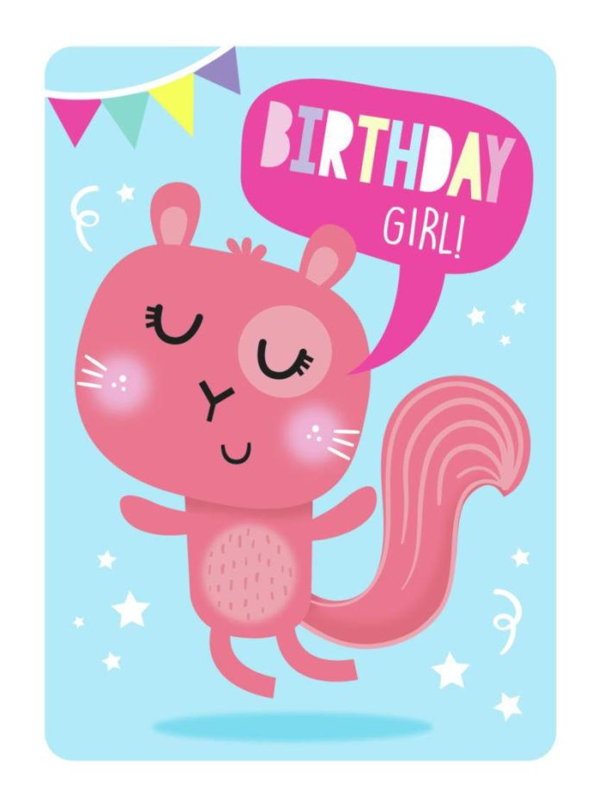 JENNIEBRADLEY-BIRTHDAY GIRL CARD