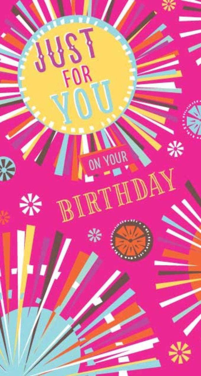 Rebecca Prinn Burst Female Birthday