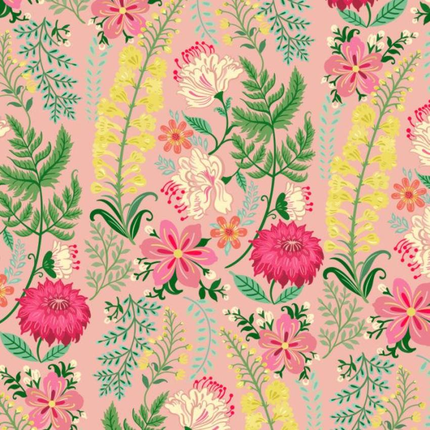 Floral Pattern Light Pink