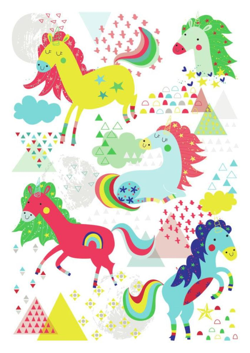 Unicorns Print - GM-01