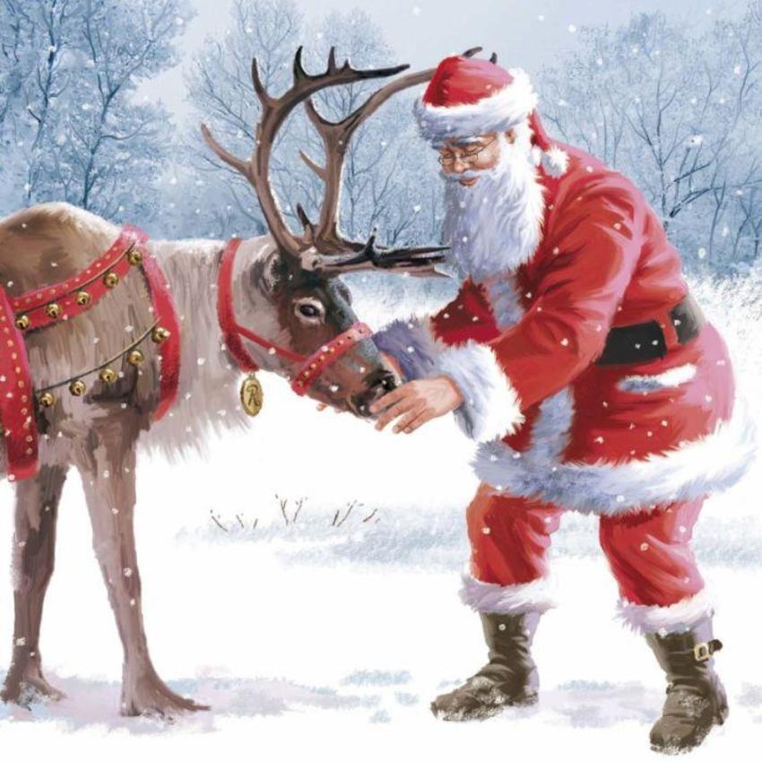 Santa & Rudolph Copy