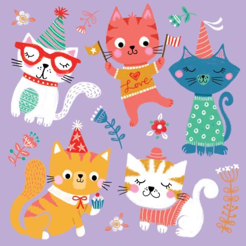 LAS_feline Fun Time Cats