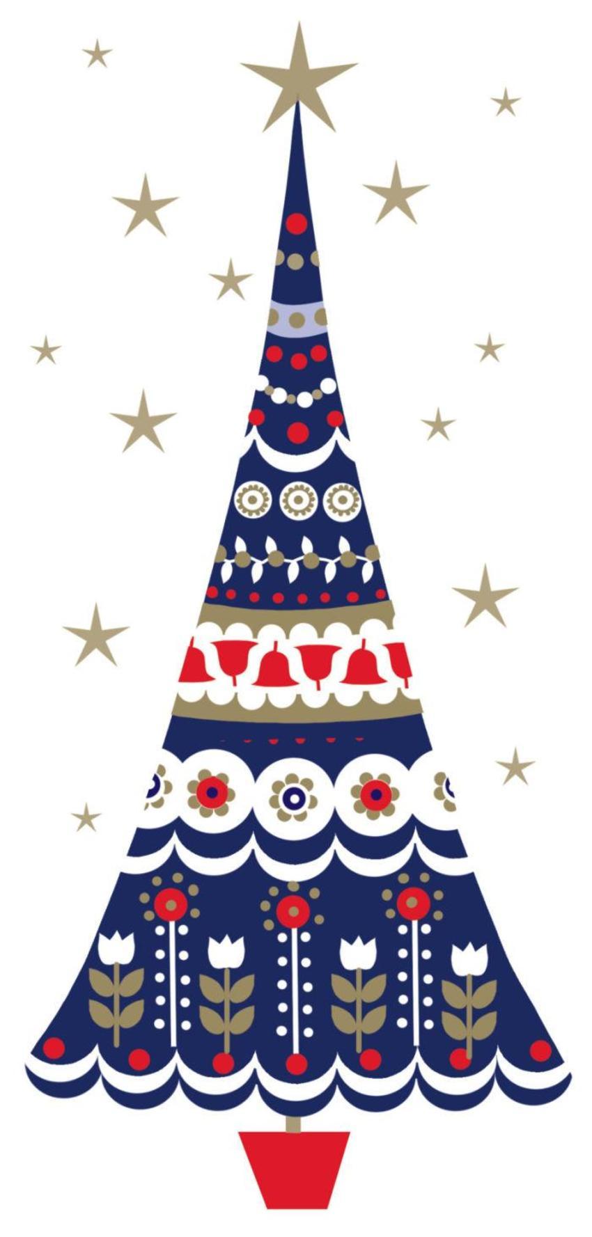 Scandinavian-Christmas-Tree Foil