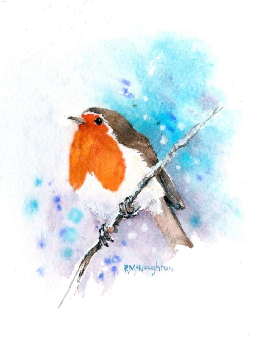 Robin Above
