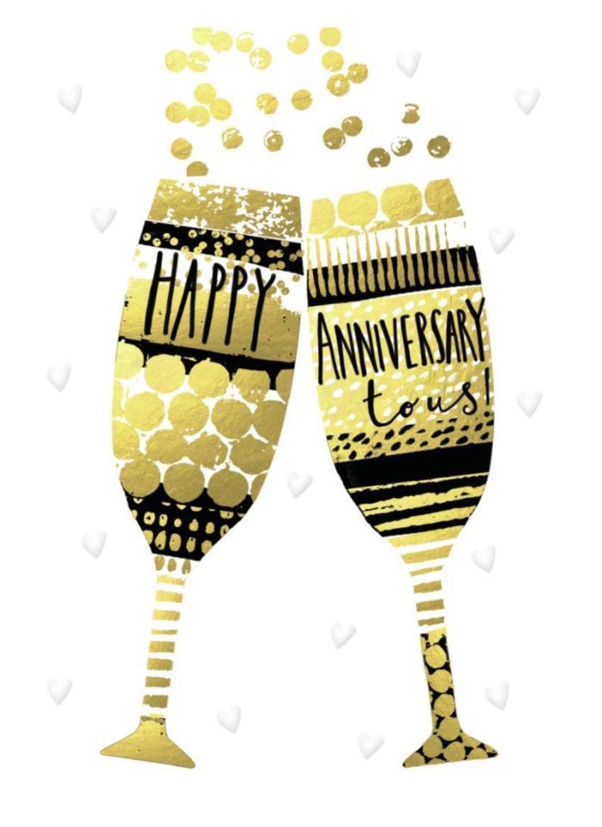 Anniversary-gold-champagne