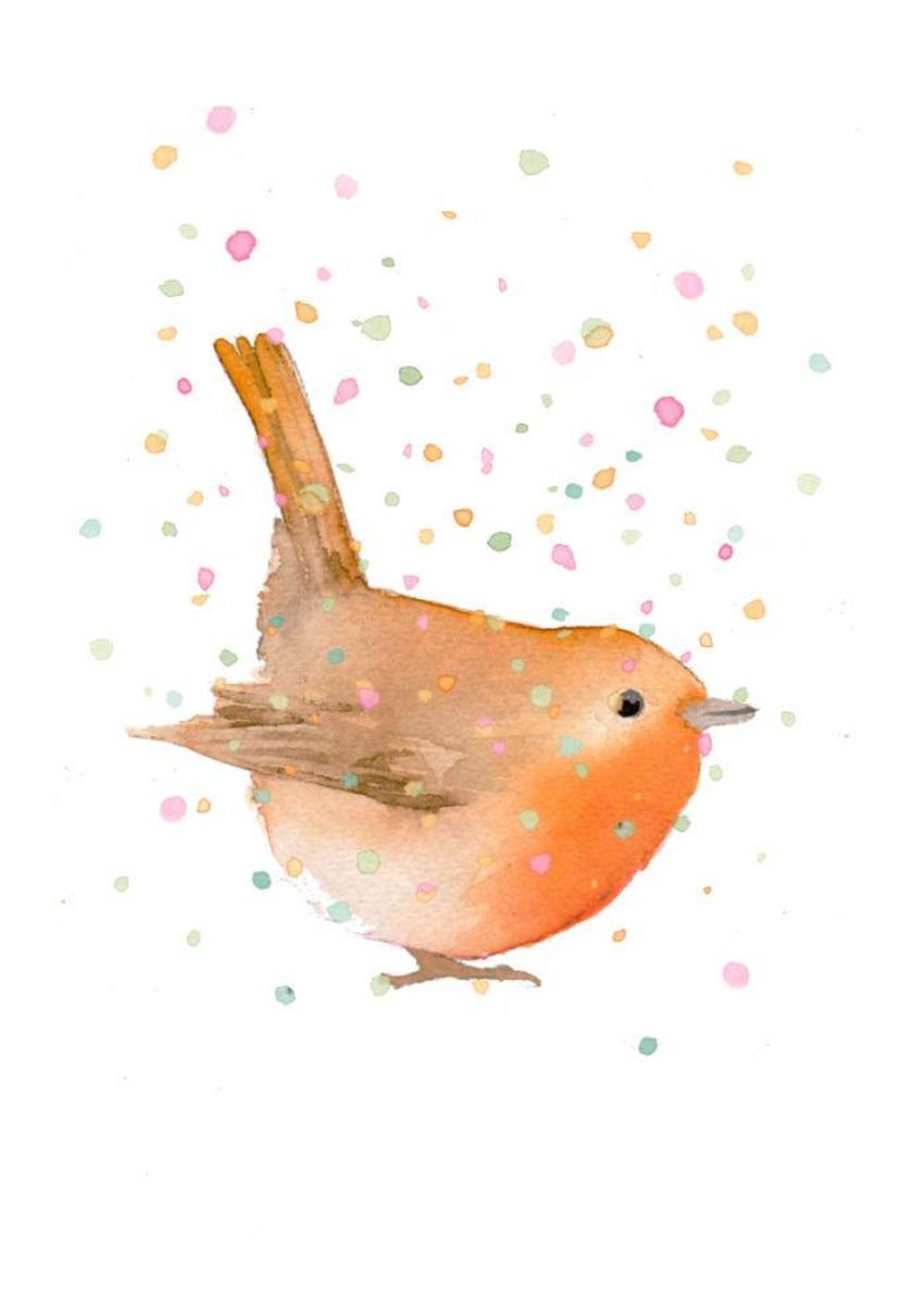Robin Snow Christmas