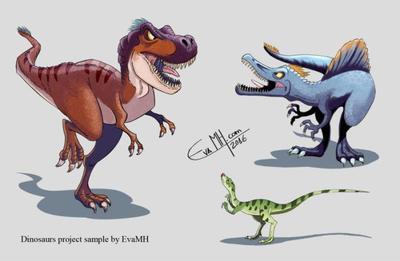 dinosaurs-sample-by-evamh