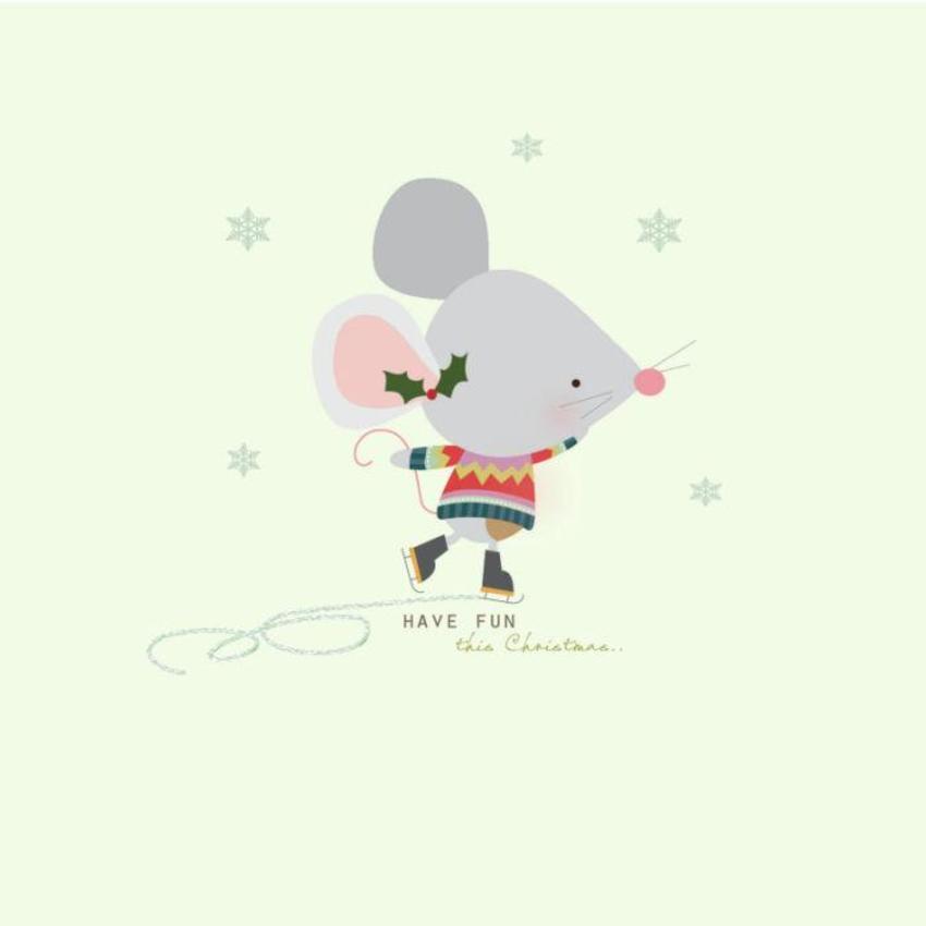 Xmas Mouse 2