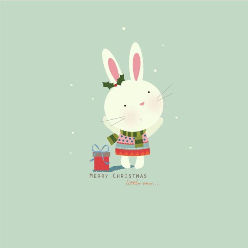 Xmas Bunny 2