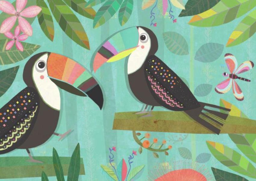 Birdie Tropicals Katie Saunders