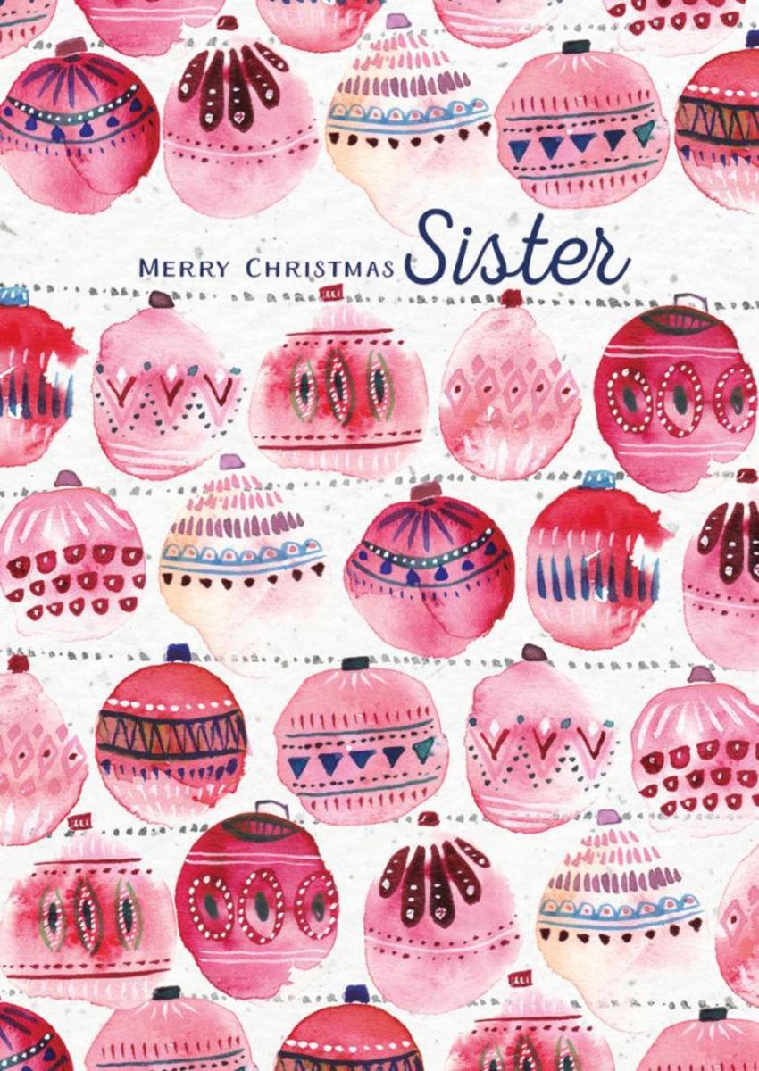 RP Christmas Baubles Watercolour Female