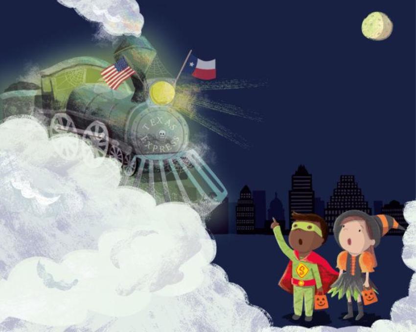 Texas Ghost Train Cover