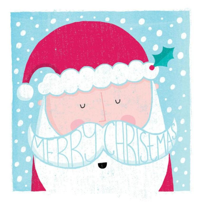 Santa Moustache