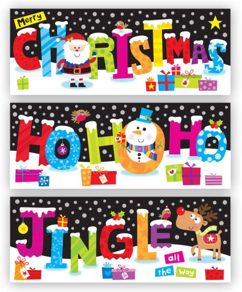 JENNIE BRADLEY-CHRISTMAS SLIM CARDS