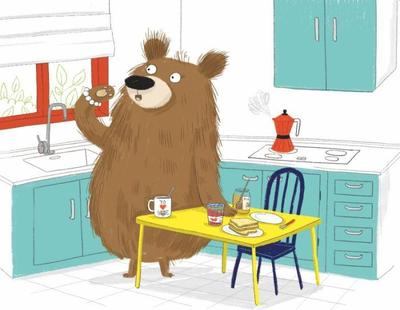 already-sold-bear-toys-funny-animal-kitchen