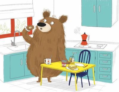 already-sold-bear-toys-funny-animal-kitchen