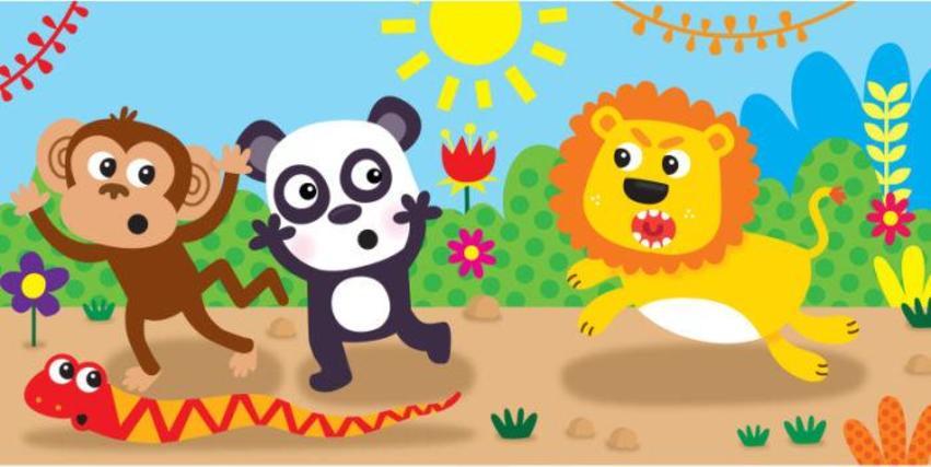 JENNIE BRADLEY-MONKEY SNAKE PANDA LION