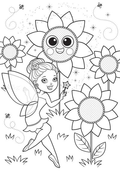 bk84351-fairy-sunflowers-01-coloring