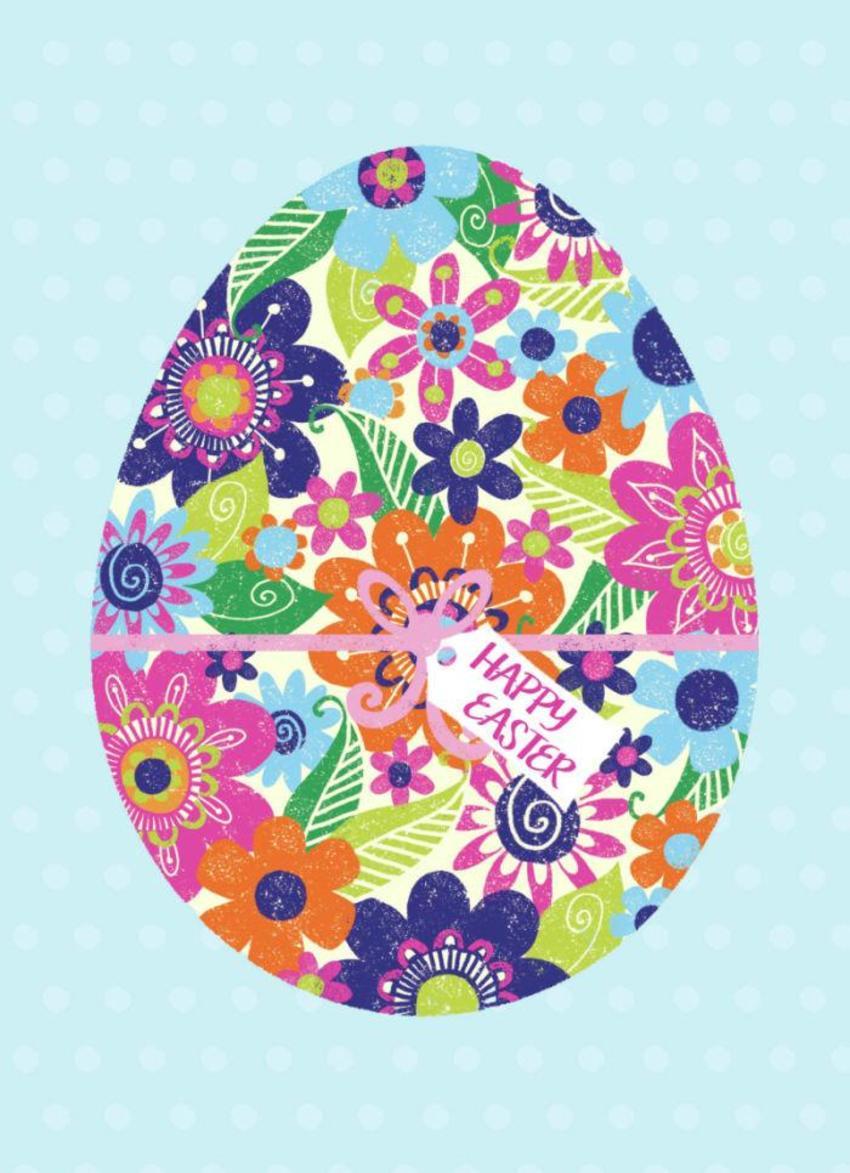 Floral-easter-egg