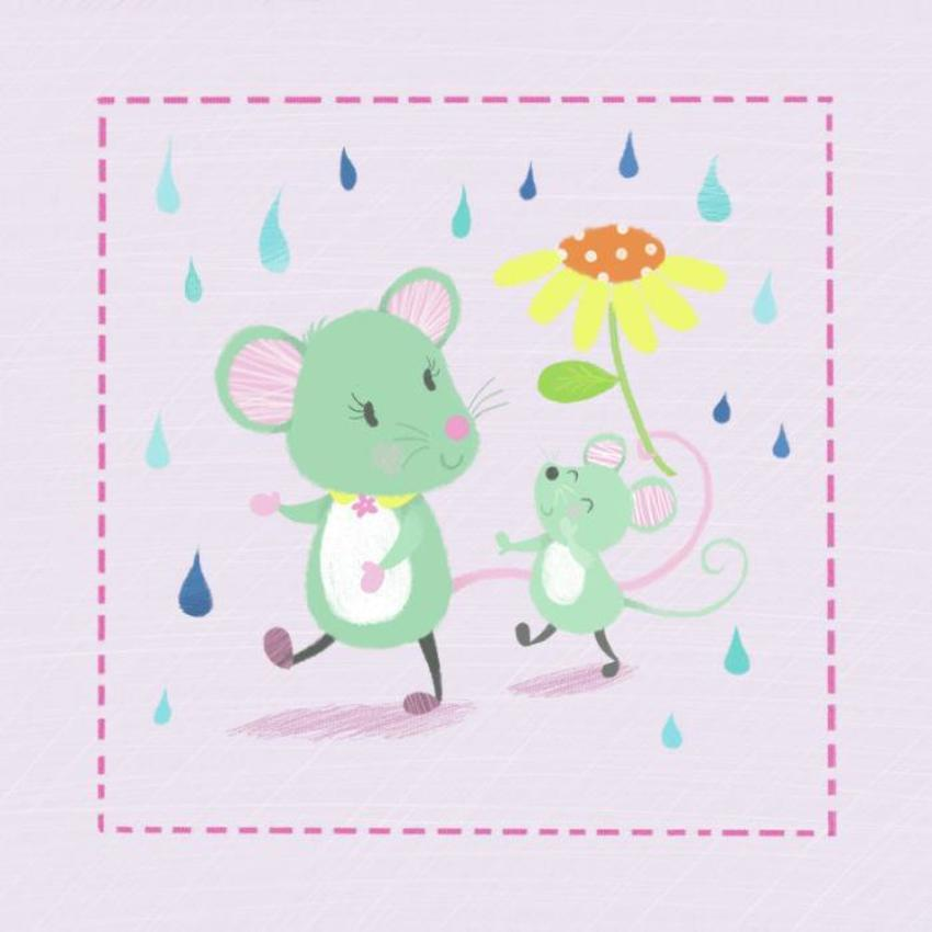 Mice And Raindrops Melanie Mitchell