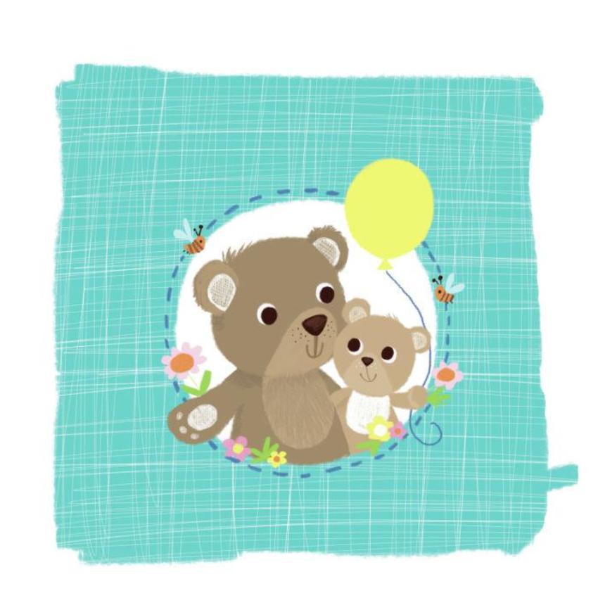 Bears And Balloon Melanie Mitchell