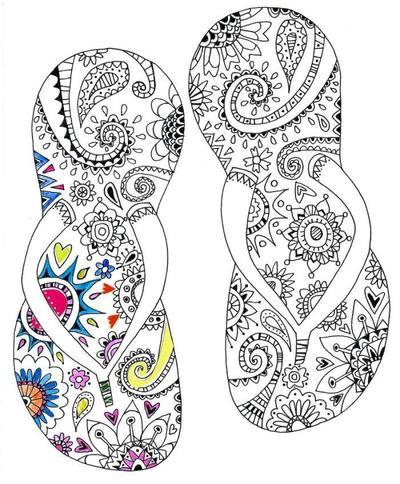 liz-and-kate-black-line-flip-flops