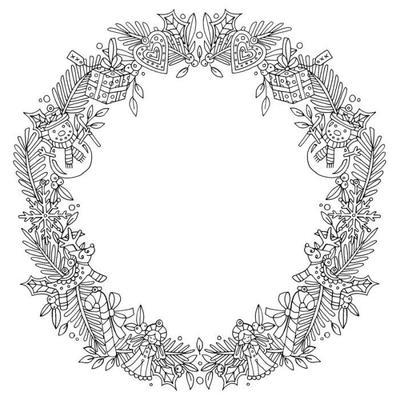 ornaments-border-christmas-adult-colouring-line-art