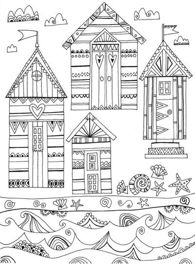 liz-and-kate-adult-colouring-beach-huts