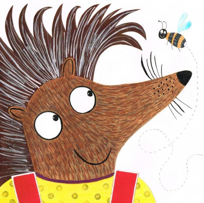 Hedgehogandbee