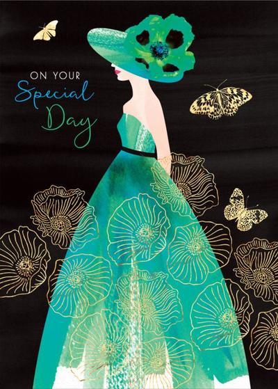 female-birthday-girlfriend-wife-mothers-day-sister-friend-anniversary-fashion-illustration-lady-with-poppy-hat-aqua-dress