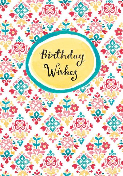 las-hand-painted-floral-motif-tile-pattern-2-birthday-wishes