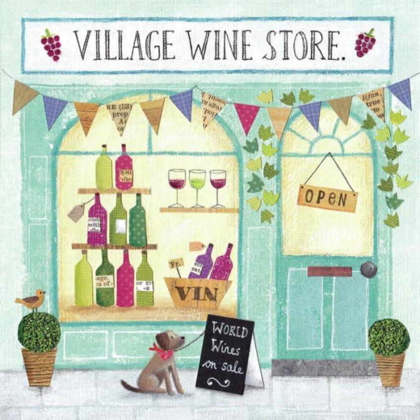 Wine Shop Front Flat