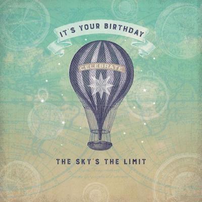birthday-hot-air-balloon-vintage-maps