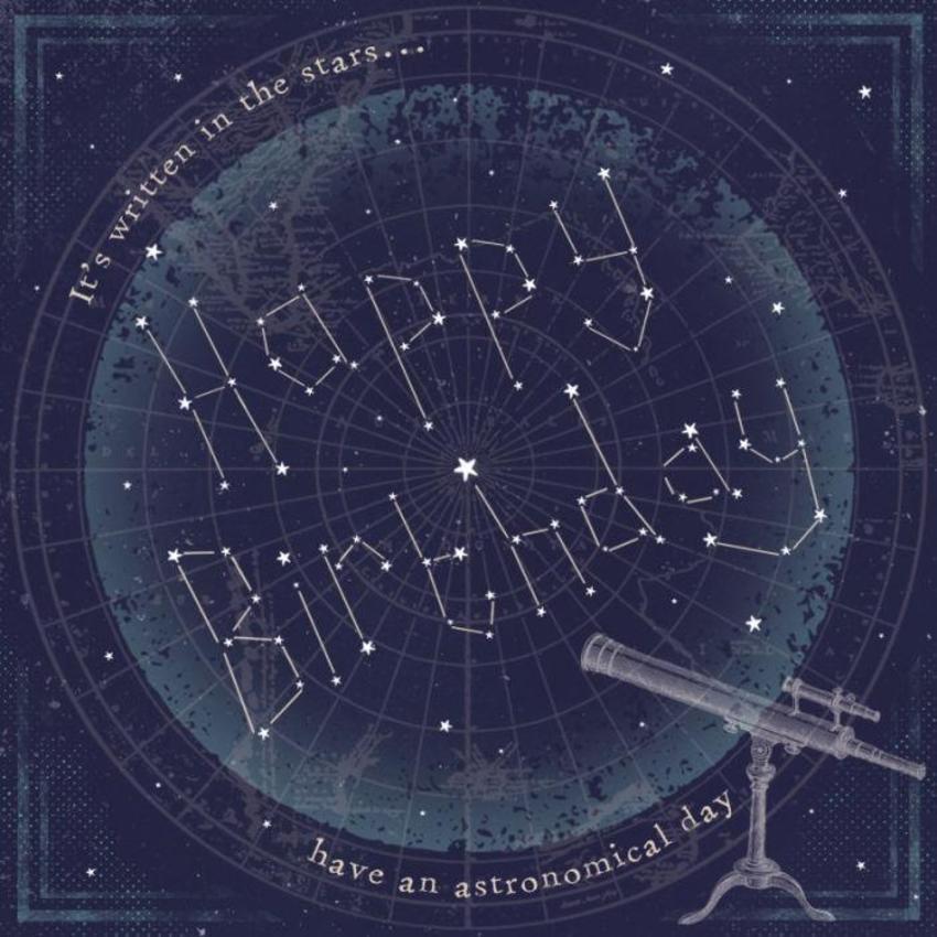Birthday Stars Astronomy