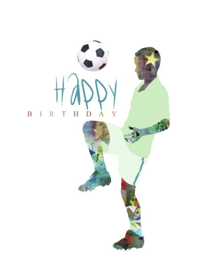 LD963_cut Out Boy Football Birthday
