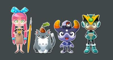 dinkybox-character-lineup