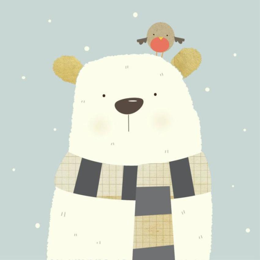 Polar Bear Xmas Design-01