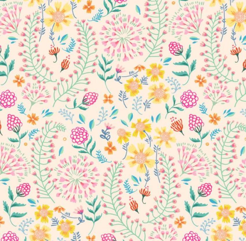Floral Repeat Pattern_FL57-4