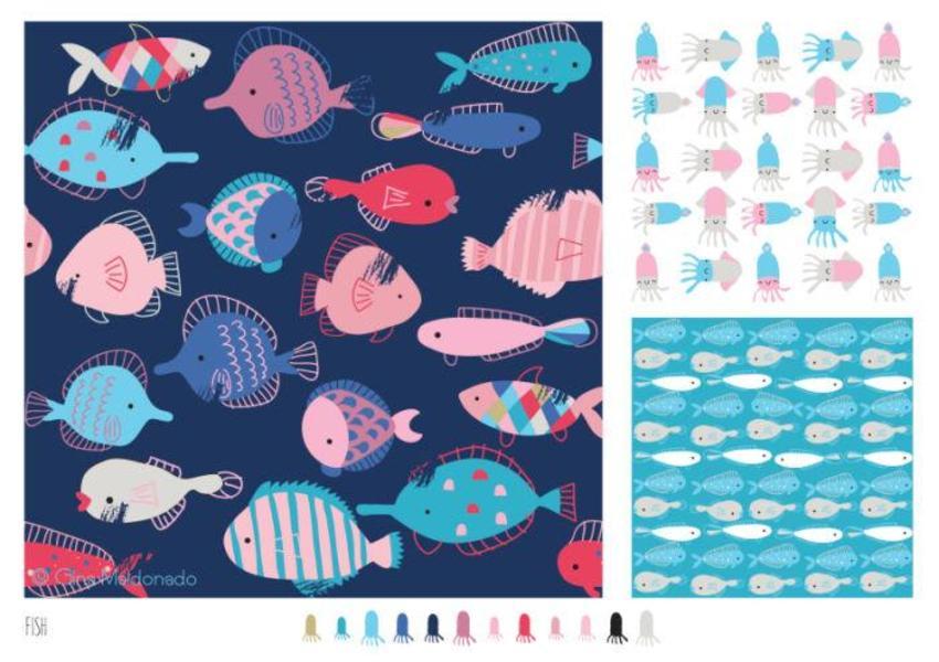 Fish Pattern - GM