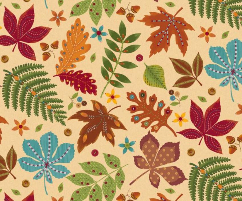 476 Fall Leaves Autumn