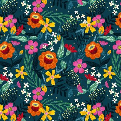 flowers-pattern-available